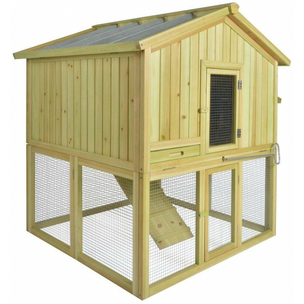 Poulailler en kit poulailler en bois farming - Poulailler en kit ...