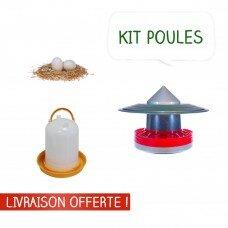 Mangeoire + Abreuvoir + Oeufs factices