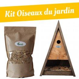 Kit oiseaux du jardin